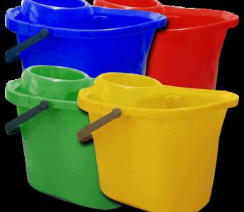 5060+Plastic Mop Buckets