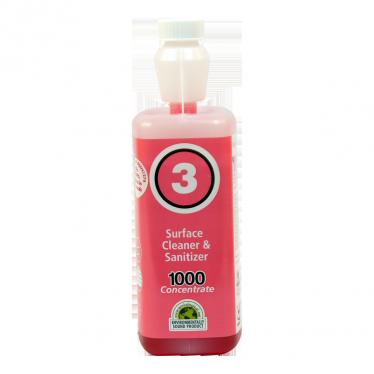 Evolution 1000 No03 Surface Cleaner and Sanitizer 1ltr