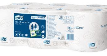 Tork Smart One 2ply Toilet Rolls
