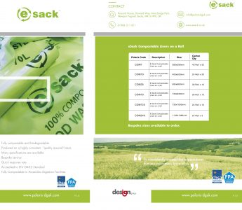 E_Sack Compostable Liners