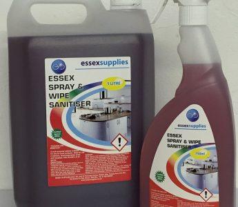 Spray n Wipe 5ltr & 750ml