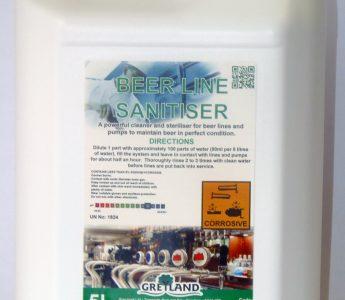 Beer Line Sanitiser 5ltr