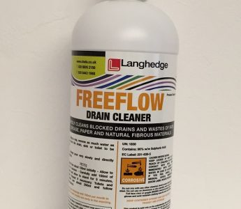 FREE FLOW DRAIN CLEANER