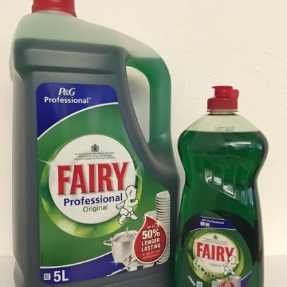Fairy Liquid 5ltr & 750ml
