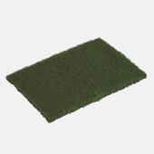 Flat green scourers