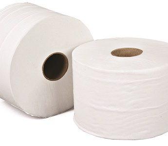 Micro Jumbo toilet rolls 100m 2ply rolls