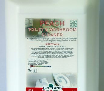 Peach Toilet & Washroom Cleaner 5ltr