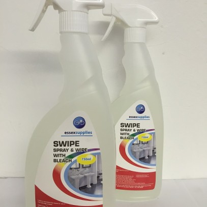 SWIPE – Spray n Wipe with Bleach