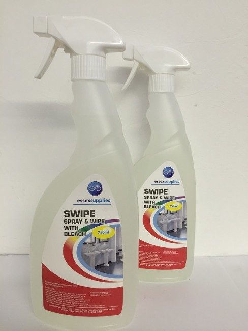 SWIPE – Spray n Wipe with Bleach