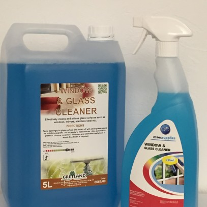 window and glass 750ml & 5ltr