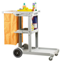 Tuff Cart Cleaners Trolley