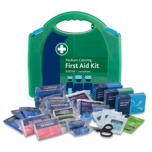 428 Med Catering First Aid Kit in Aura Box