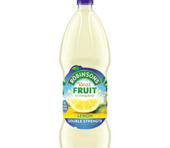 Robinsons Double Strength Lemon 1.75ltr