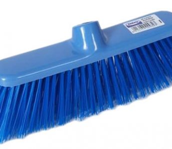 Plastic Brooms _ comes complete with plastic handle - Soft or Stiff option