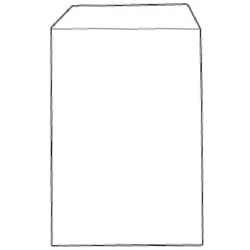 638558-White Box Envelope Seal Pocket C4 White