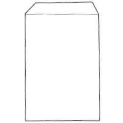 638574- White Box Envelope pocket Seal C5 White