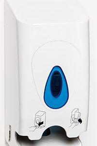 Twin std toilet roll holder PL55PWB