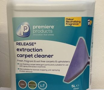 Release Carpet Extraction Shampoo 5ltr