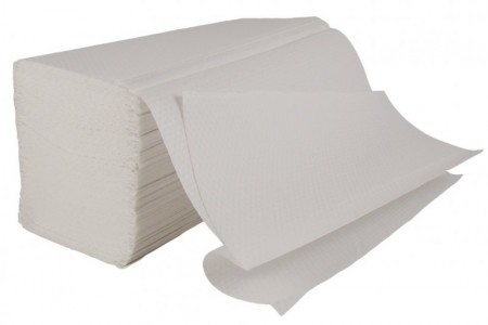 421-1ply white_interfold_hand_towels