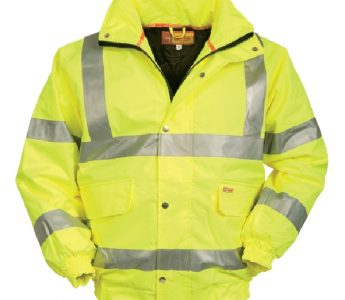 Yellow Hi Vis Bomber Jackets