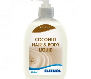 076937 - Coconut Hair & Body Liquid 6 x 500ml