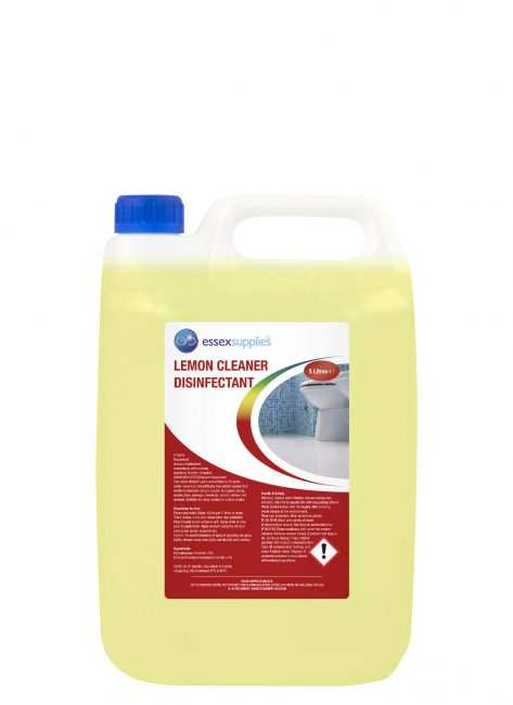 Essex Supplies Lemon Cleaner Disinfectant 5L