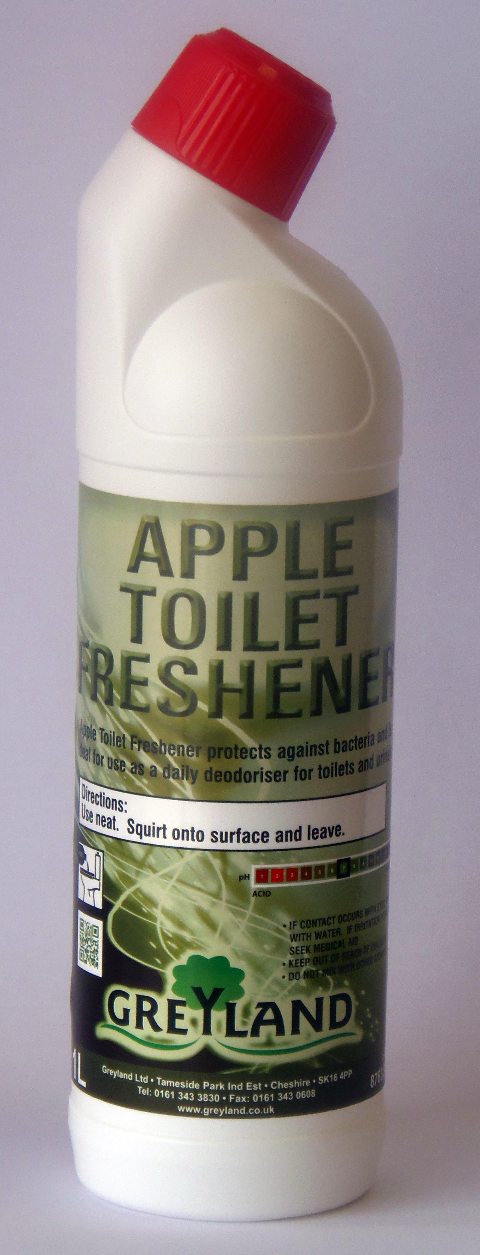 Apple Toilet Freshener 1ltr